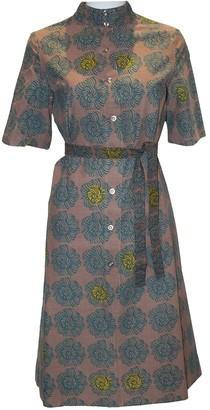 Marimekko Multicolour Linen Dress for Women Vintage