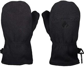 Obermeyer Finley Fleece Mitten (Little Kids/Big Kids) (Black) Extreme Cold Weather Gloves