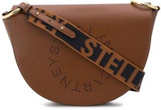 Stella McCartney Stella Logo saddle bag