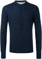 Paolo Pecora henley top - men - Cotton - XL