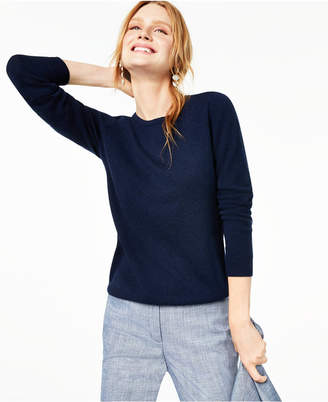 Charter Club Crew-Neck Cashmere Sweater, Regular & Petite Sizes
