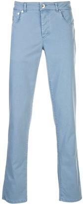 Brunello Cucinelli Mid-Rise Slim Jeans