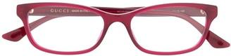 Gucci GG0730O rectangular-frame glasses