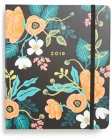 Rifle Paper Co. Floral 17-Month 2016 Planner - Black