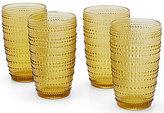 Southern Living Beaded Highball Glasses, Set of 4