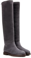 Loro Piana Ethel shearling-lined suede knee-high boots
