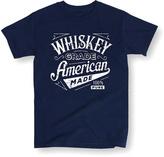 Navy 'Whiskey Grade American Made' Tee - Men's Regular