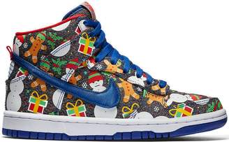 Nike SB Dunk High Concepts Ugly Christmas Sweater 2017 (GS)