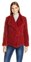 Vero Moda Women's Jayla Short Faux Fur Jacket