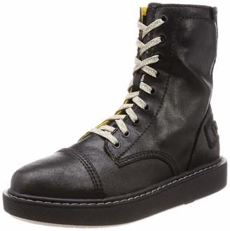 Diesel Men's D-CAGE DBB Leather-Ankle Boot Fashion