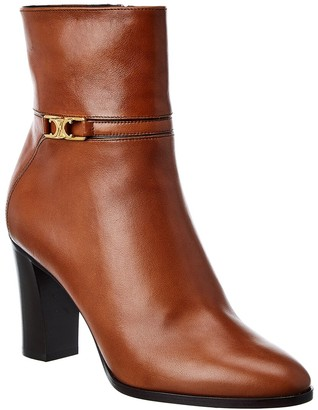 Celine Claude Leather Bootie