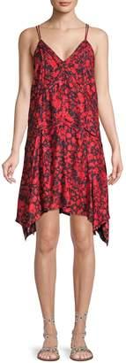 Iro . Jeans Soul Floral Mini Dress