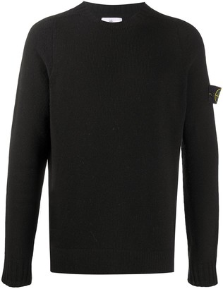 Stone Island Compass-Patch Crewneck Jumper