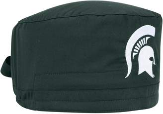 Unbranded Green Michigan State Spartans Team Scrub Cap