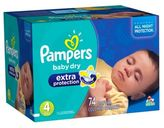 Pampers Extra ProtectionTM 74-Count Size 4 Super Pack Diapers
