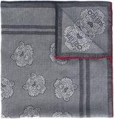 Kenzo multi tiger scarf - women - Cotton - One Size