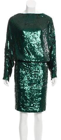 Givenchy Sequined Silk Dress