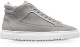 Etq Amsterdam Mid 2 Perla Gray Nubuck Men's Sneaker