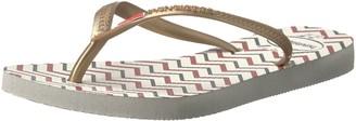 Havaianas Women's Slim Americana Flip Flop Sandal