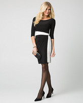 Le Château Knit Boat Neck Dress