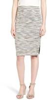 Women's Halogen Side Slit Pencil Skirt