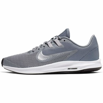 Nike Women's WMNS Downshifter 9 Track & Field Shoes Grey (Cool Grey/Metallic Silver-Wolf Grey 004) 8.5 UK (43 EU)