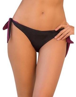 Joan Smalls X Smart & Sexy Womens Reversible Side-Tie Swim Bottom