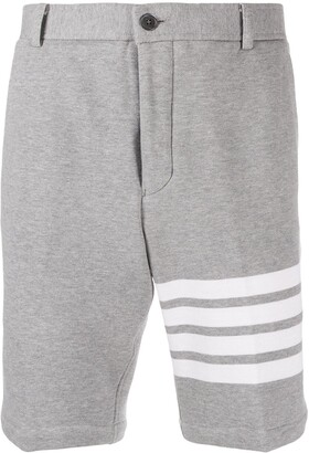 Thom Browne 4-Bar unconstructed chino shorts