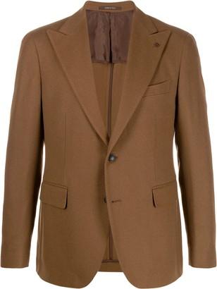 Tagliatore fitted single-breasted blazer