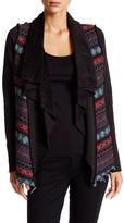 Anama Pattern Panel Jacket