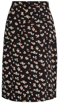 People Tree Thandie Floral Skirt
