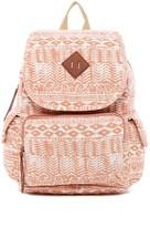 Madden-Girl Jersey Aztec Print Backpack
