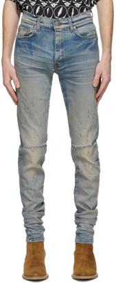 Amiri Blue Shotgun Jeans