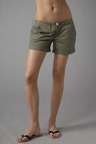 Roll Up Twill Shorts