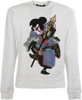 DSQUARED2 Samurai Print Sweatshirt