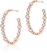 Tiffany & Co. Cobblestone:Diamond Hoop Earrings