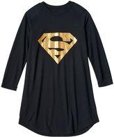 Girls 4-12 DC Comics Gold Supergirl Nightgown