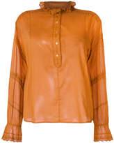 Etoile Isabel Marant Louna embroidered shirt