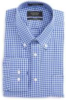 Nordstrom Men's Trim Fit Non-Iron Gingham Dress Shirt