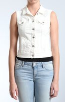 Mavi Jeans Jodi Vest In Used-White