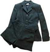 Alaia Grey Wool Jacket for Women Vintage