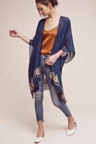 Anthropologie Embroidered Multiway Kimono