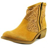 Coolway Mc-1 Women Round Toe Leather Tan Ankle Boot.