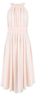 Klaudia Karamandi Olivera Sleeveless Light Pink Dress