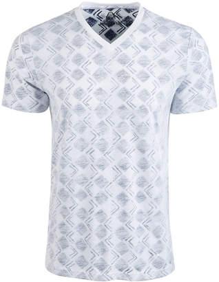 American Rag Men V-Neck Geometric T-Shirt
