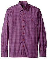 Ike Behar Men's Check Sportshirt