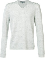 John Varvatos V-neck sweater - men - Silk/Viscose - S