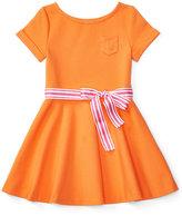Ralph Lauren Fit & Flare Dress, Toddler & Little Girls (2T-6X)