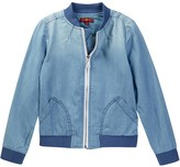 7 For All Mankind Bomber Jacket (Little Girls)