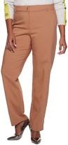 Apt. 9 Plus Size Torie Straight Leg Dress Pants